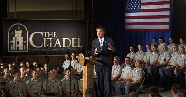 FACT CHECK: Romney misfires on defense