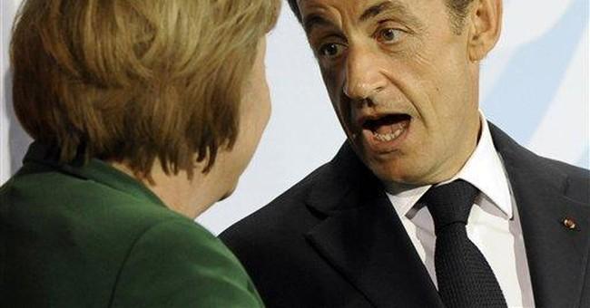 Stocks gain after Sarkozy, Merkel vow debt action