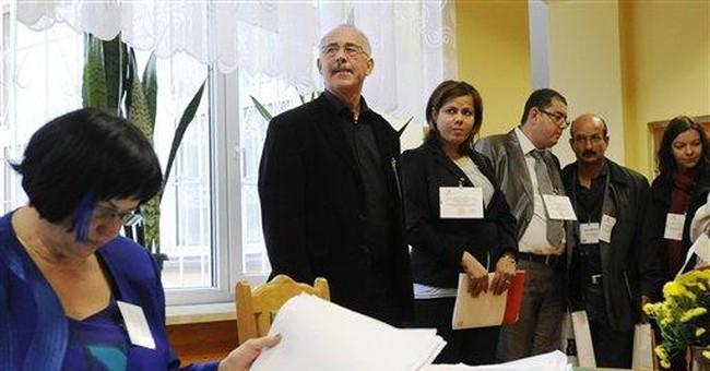 Arab Spring activists observe Polish elections