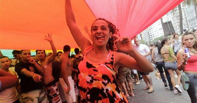 Nearly 700,000 attend gay pride parade in Rio