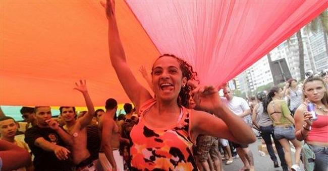 Nearly 700,000 attend gay pride parade in Rio
