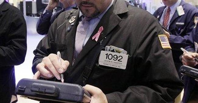 Stocks soar on European pledge to help banks
