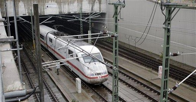 2 arson attacks in Germany aimed at rail services