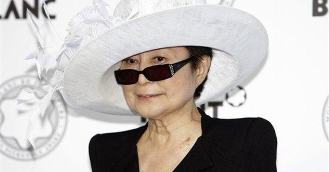 Yoko Ono campaign to raise hunger awareness