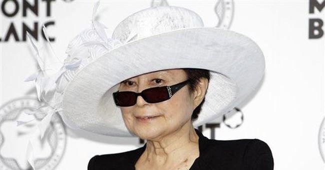 Yoko Ono campaign to raise hunger awareness