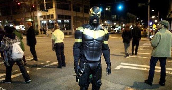 Seattle 'superhero' arrested, accused of assault