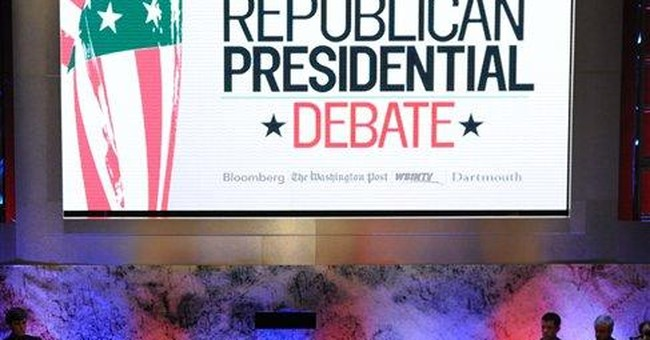 A look at key moments in the GOP debate