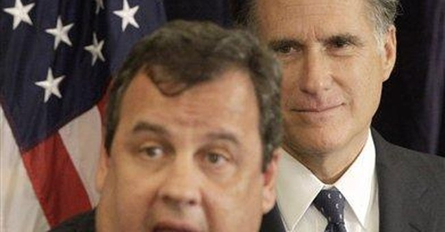 Christie backs Romney for GOP presidential nod