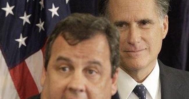 Christie backs Romney for GOP presidential nod
