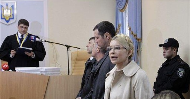 Ukraine's Tymoshenko sentenced to 7 years in jail