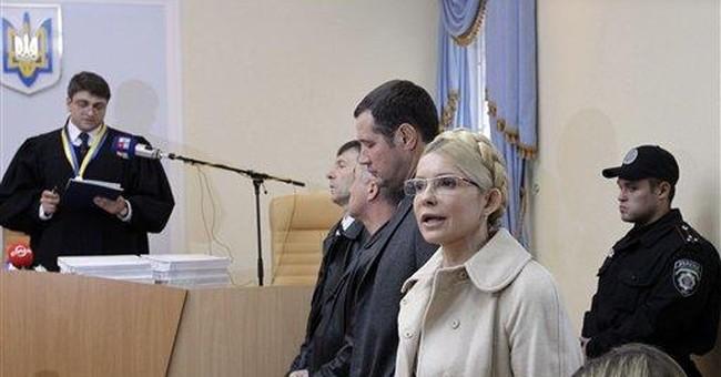 Ukraine's Tymoshenko sentenced to 7 years in jail