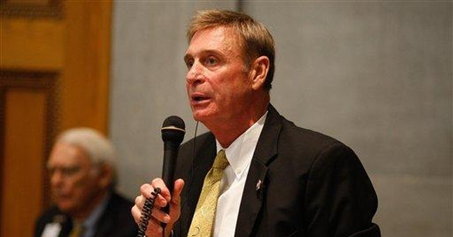 Tenn. lawmaker arrested on DUI, gun charges