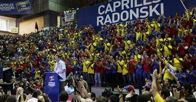Chavez opponent launches presidential campaign