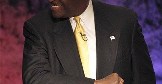 Cain says philosophy trumps foreign policy deficit