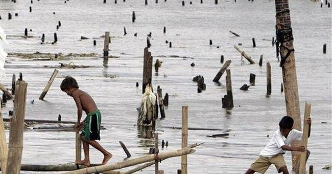 8 dead in stormy weather in Philippines
