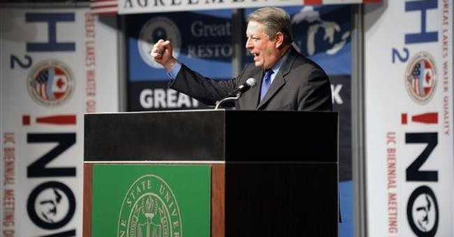 Gore links climate change to Great Lakes problems