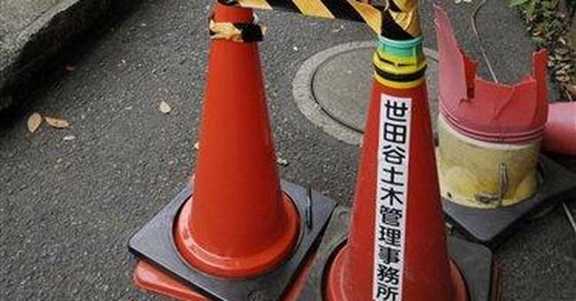 Tokyo radiation hotspot linked to old bottles