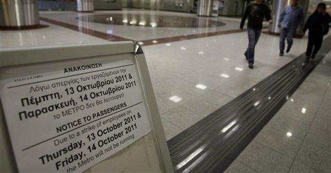 Acropolis closed as Greek strikes spread