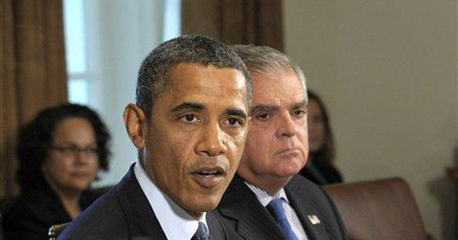 LaHood says he'll leave at end of Obama's term