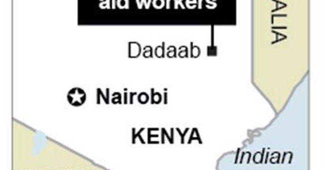 2 Spanish aid workers seized in Kenya refugee camp