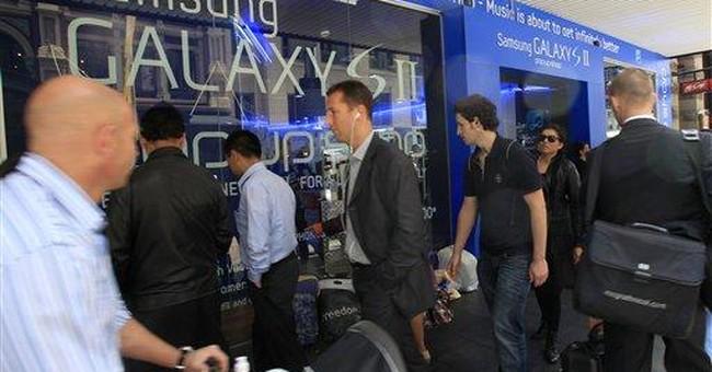 Australian court bans sales of Samsung Galaxy tab
