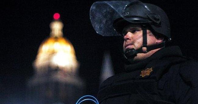 2 dozen Wall Street protesters arrested in Denver