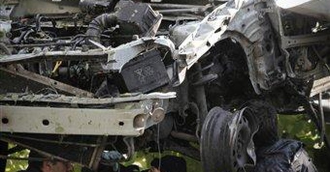 Bulgarian journalist's car blown up; no injuries