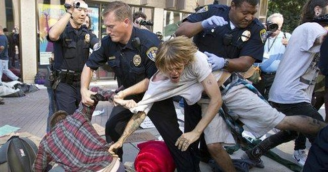 Pepper spray used at San Diego 'Occupy' protest