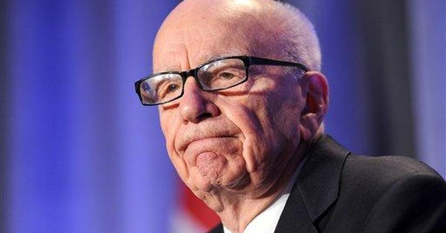 Rupert Murdoch heckled at Calif. education forum