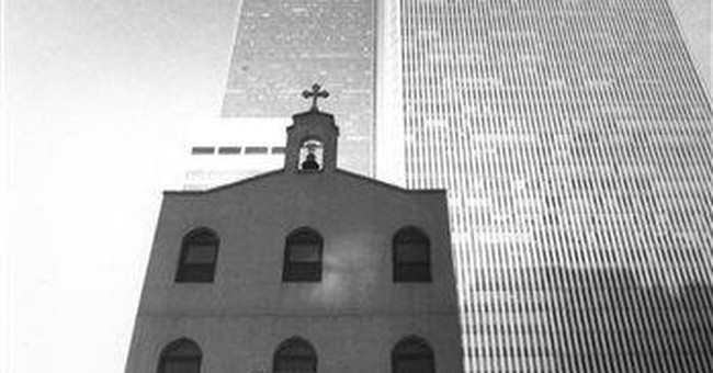 Deal struck to rebuild NY church destroyed on 9/11