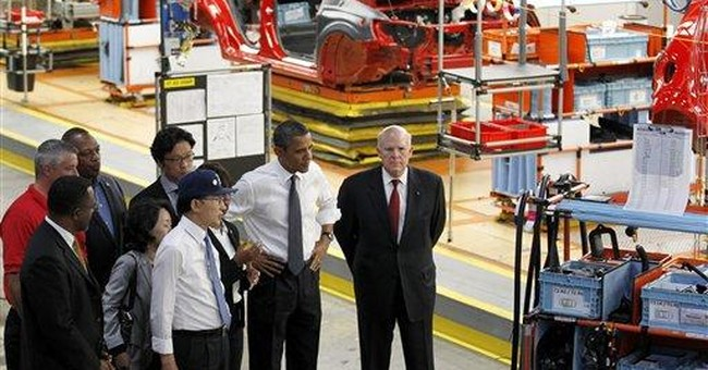 Obama, Lee pitch trade deal in Michigan