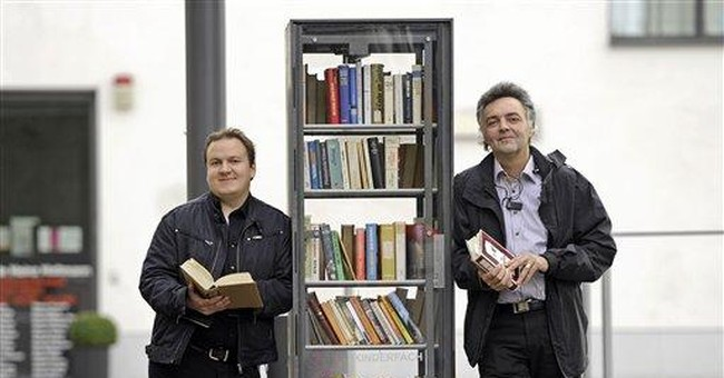 Public bookshelves spread across Germany