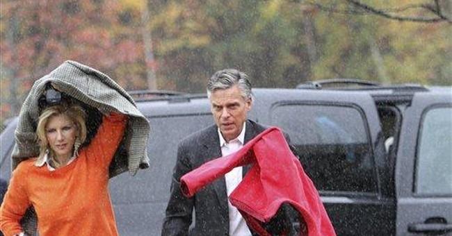 Huntsman defiant in the face of long odds