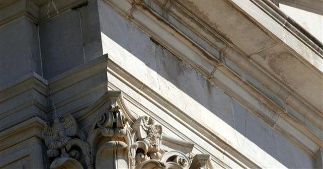 Oklahoma Capitol crumbles with no repair money