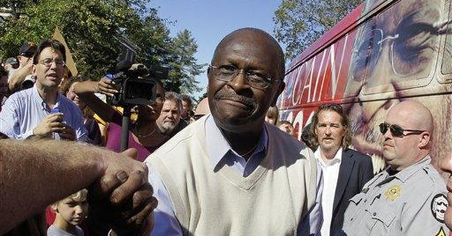 Cain: I'll challenge Perry for evangelical votes