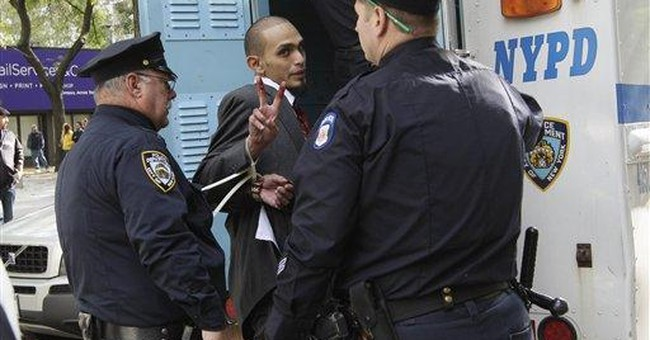 80-plus arrested in NYC Occupy Wall Street protest