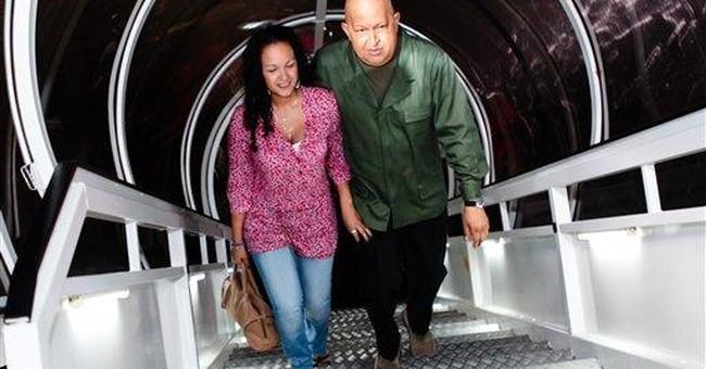 Hugo Chavez travels to Cuba for medical tests