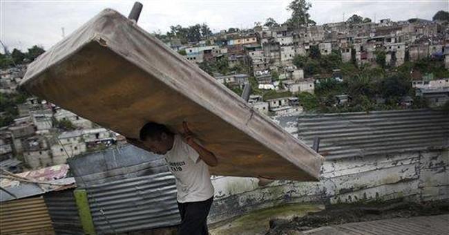 Heavy rains kill at least 66 in Central America