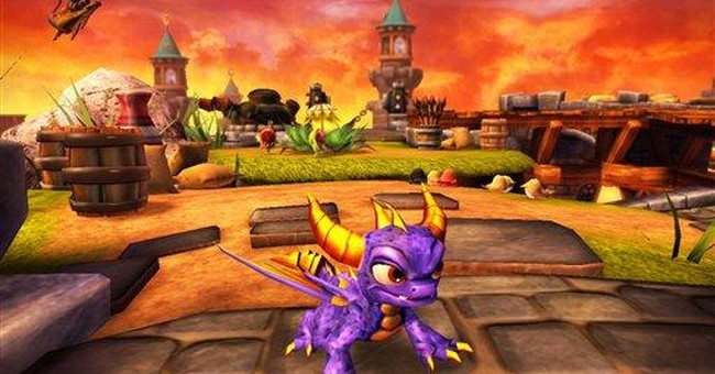 Activision jumps into kids' game with 'Skylanders'