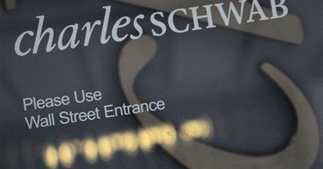 Schwab 3Q net income up 77 percent