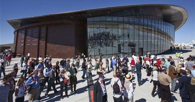 Branson and NM officials dedicate space terminal