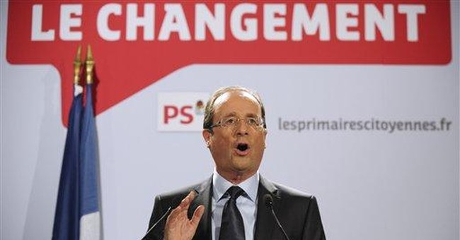 Kinder, gentler than Sarkozy: Socialists' Hollande
