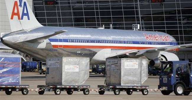 Shares of American Airlines parent AMR fall again