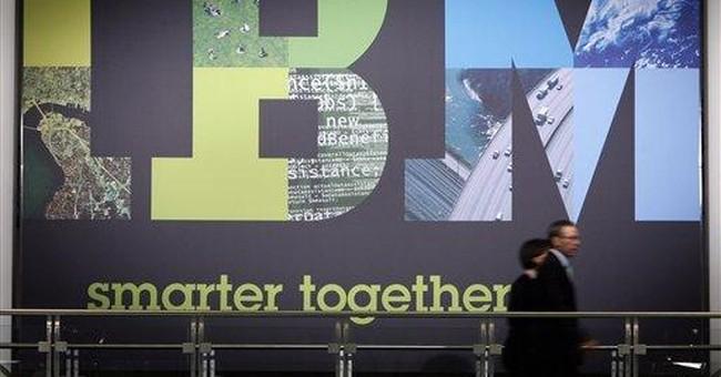 IBM bumps guidance again, but revenue falls short