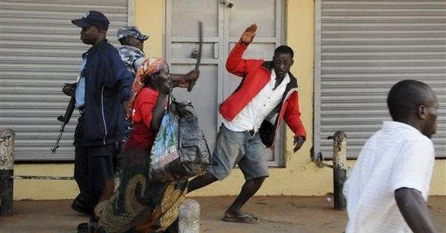 Tear gas, rubber bullets at Ugandan 'Walk' protest
