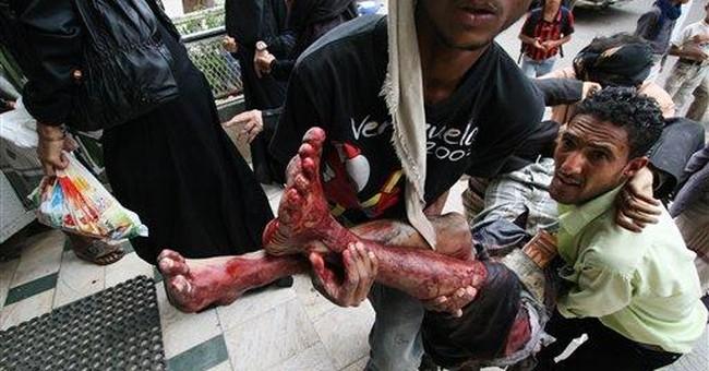 Yemen's capital Sanaa sees worst fighting in weeks