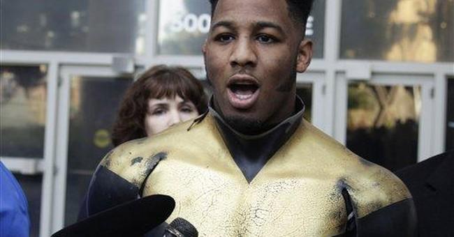 Arrest marks growing pains for superhero movement