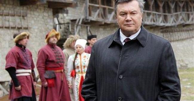 EU: Yanukovych trip to Brussels canceled