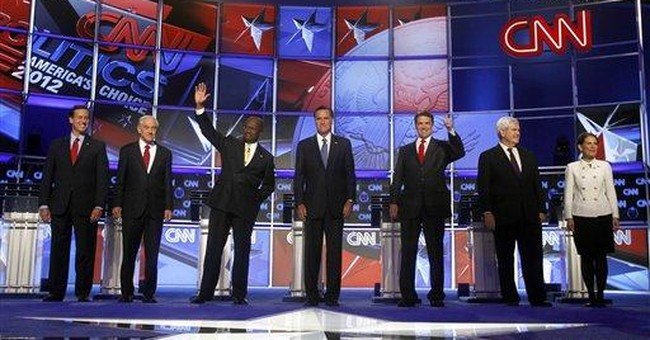 GOP candidates spar on border fence during debate