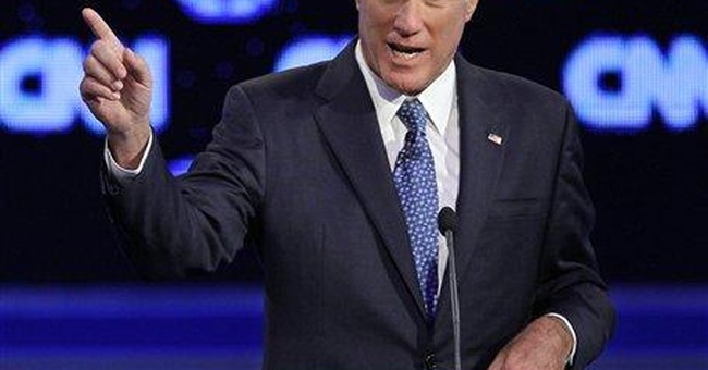 """Romney says foreclosures should """"hit the bottom"""""""